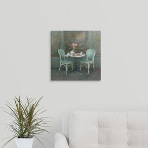 Joy of Paris II by Danhui Nai Graphic Art on Wrapped Canvas by Great Big Canvas