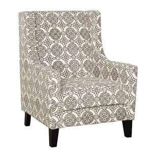 Comparison Carlton Wingback Chair ByBungalow Rose