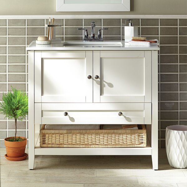 Cape Cod 37 Single Bath Vanity Set by Simpli Home