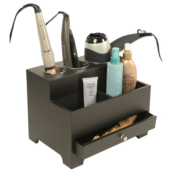 Personal Organizers Styling Storage Hair Tool Holder by Richards Homewares