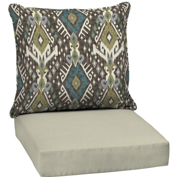 Outdoor Lounge Chair Cushion by Bloomsbury Market