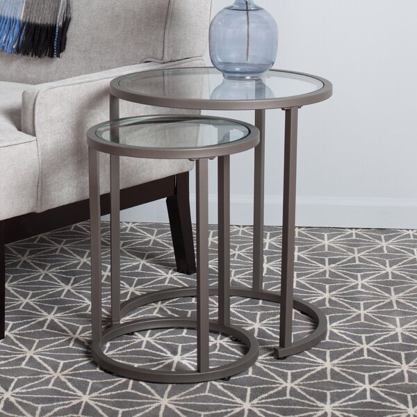 Best Price Camber 2 Piece Nesting Tables
