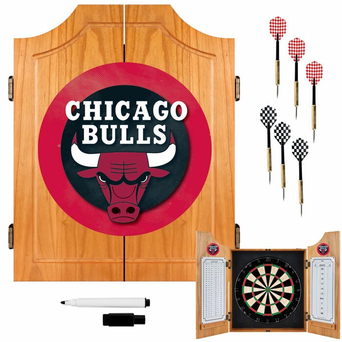 Najarian Nba Youth Bedroom In A Box: Trademark Global NBA Wood Dart Cabinet Set & Reviews