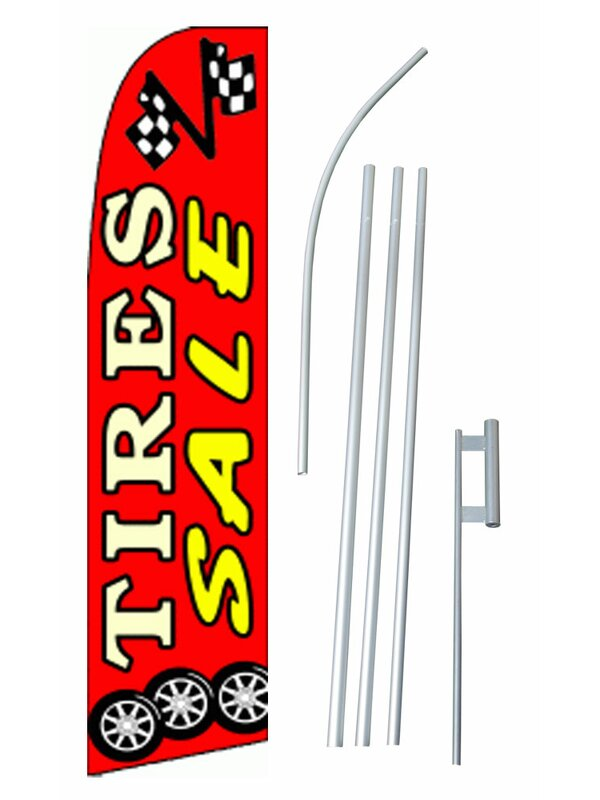 Business Industrial Tire Sale Flag 3x5 Polyester Business Signs Funkids In