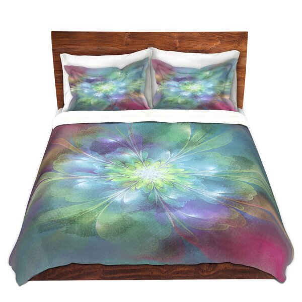 Mcilwain Pam Amos Softly Whispers 2 Microfiber Duvet Covers by Latitude Run