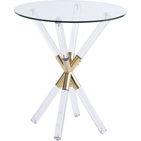 Oryana End Table By Everly Quinn