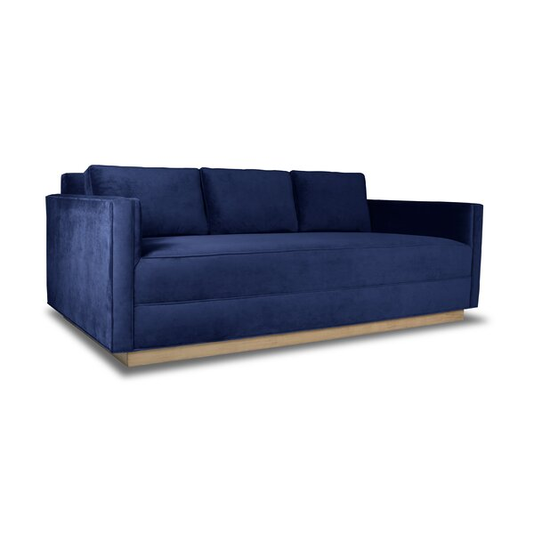 Picariello Plush Deep Sofa by Orren Ellis