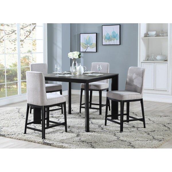 Thrash 5 Piece Counter Height Dining Set by Brayden Studio