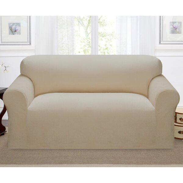 Day Break Box Cushion Loveseat Slipcover by Kathy