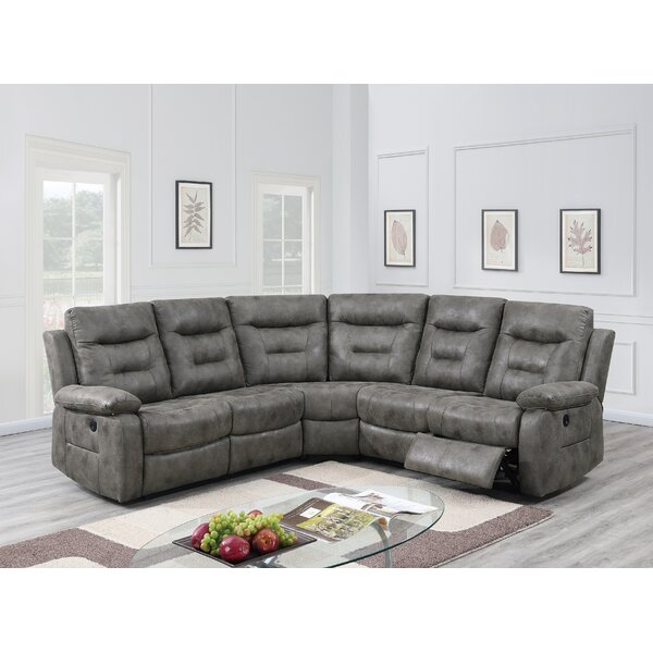 Batty Symmetrical Reclining Sectional By Winston Porter