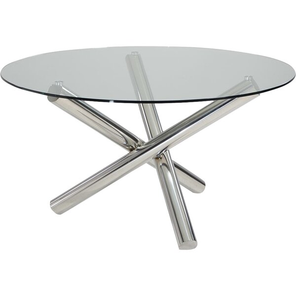 Clower Modern Round Dining Table by Orren Ellis