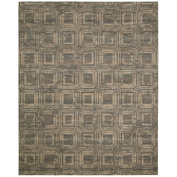 Dringenberg Smoke Area Rug by Bloomsbury Market