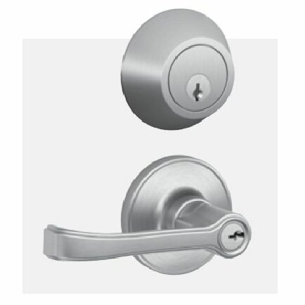 Torino Lever Interconnect Keyed Entry Lock by Schlage