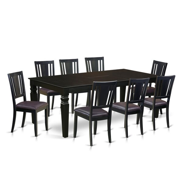 Aranha 9 Piece Dining Set by Darby Home Co