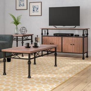 Endo 3 Piece Coffee Table Set by Winston Porter