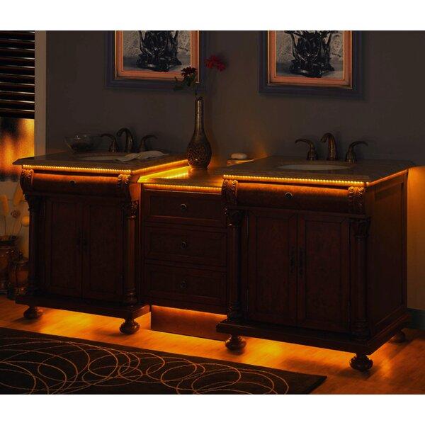 Tubbs 83 Double Bathroom Vanity Set