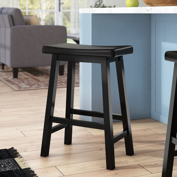 Kirkwood 24 Bar Stool by Beachcrest Home