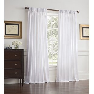 Rayner Solid Room Darkening Single Curtain Panel