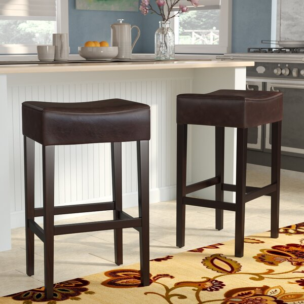 Ridgedale 30 Bar Stool (Set of 2) by Charlton Home