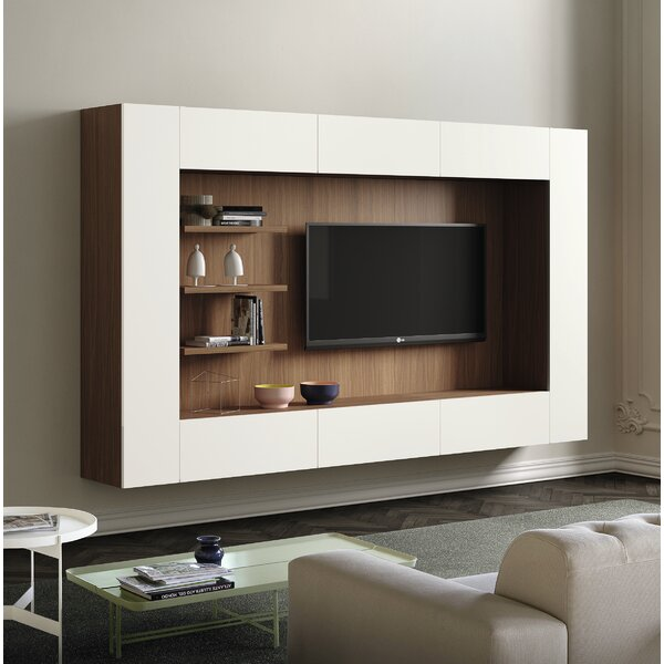 Spazio Floating Entertainment Center By Pianca USA