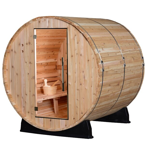 Morgan 4 Person Traditional Steam Sauna by Almost Heaven Saunas LLC
