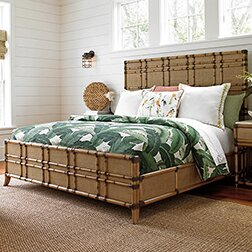 Twin Palms Panel Bed by Tommy Bahama Home