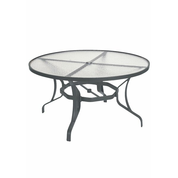LaStratta Glass Dining Table by Tropitone