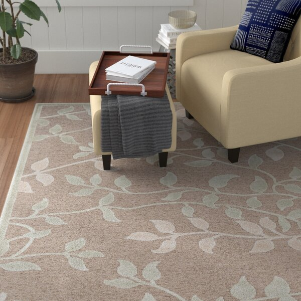Ove Floral Sea Foam/Beige Area Rug by Winston Port