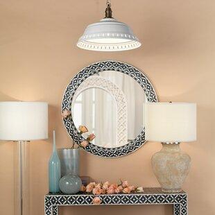 Comparison Saver Round Bathroom/Vanity Wall Mirror ByBungalow Rose