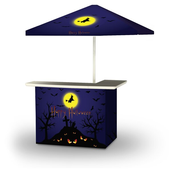 Wlikerson Halloween Full Moon 2-Piece Home Bar Set by East Urban Home East Urban Home