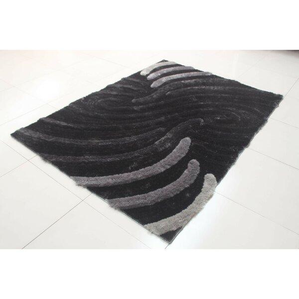 Deija Black/Gray Area Rug by Orren Ellis