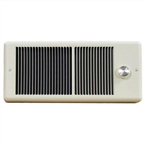 Low Profile 2000 Watt Wall Insert Electric Fan Heater by TPI