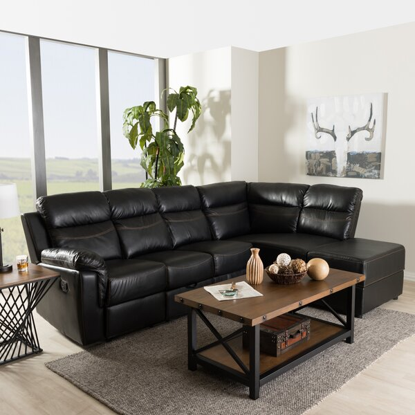 Kujawa Reclining Sectional by Red Barrel Studio