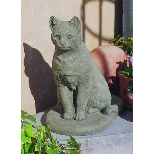 outdoor garden cat statues wayfair
