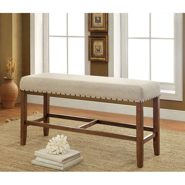 Shaniya Upholstered Bench By One Allium Way