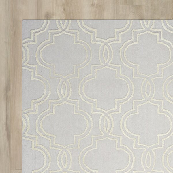 Latinne Handmade Beige Area Rug by House of Hampton
