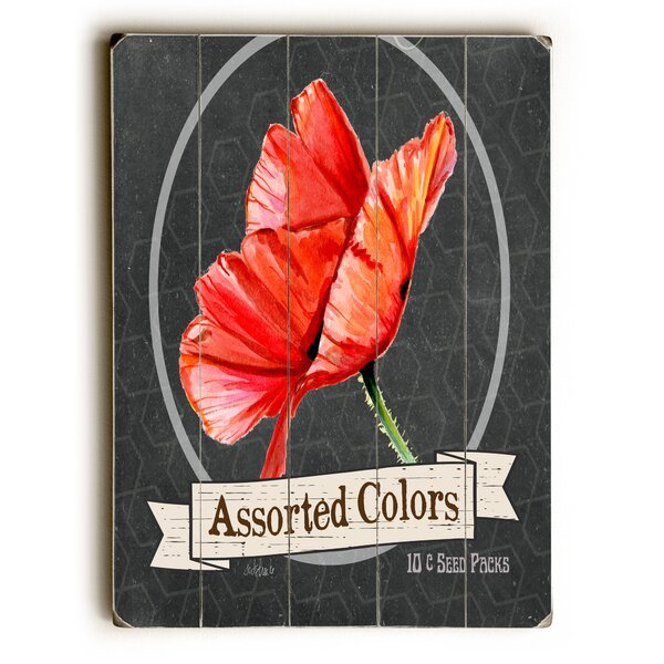 Assorted Colors Wooden Textual Art by August Grove