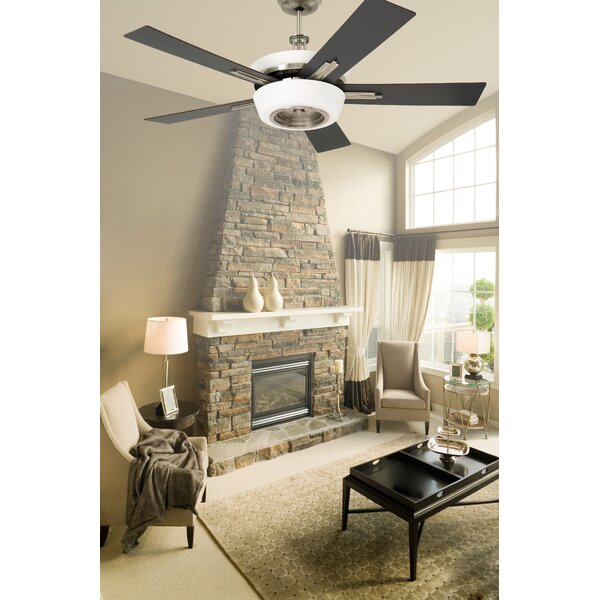 62 Tall Contemporary 5-Blade Ceiling Fan by Loon Peak