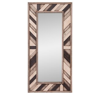Union Rustic Catalano Rustic Wood Wall Mounted Mirror
