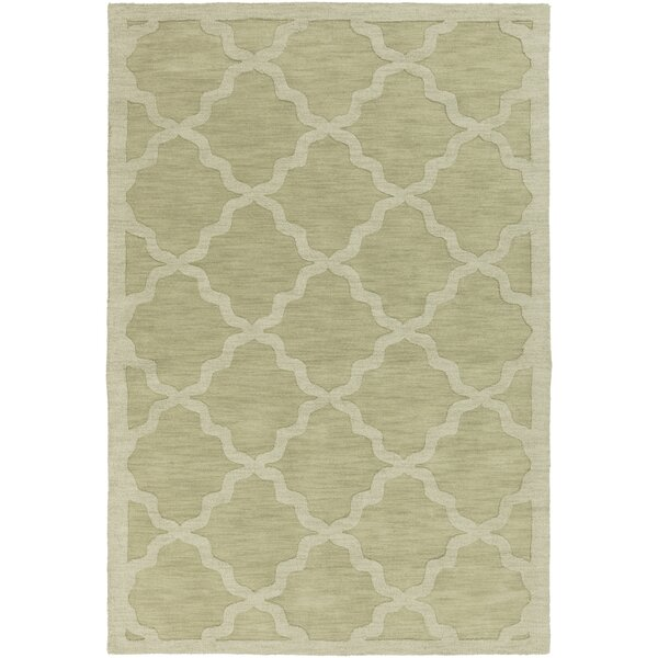 Blankenship Sage Geometric Abbey Area Rug by Charlton Home