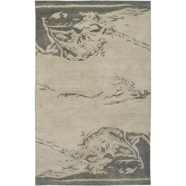 Florida Hand-Tufted Beige Area Rug by Meridian Rugmakers