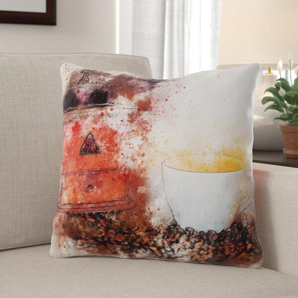 Czarnecki Coffee Throw Pillow