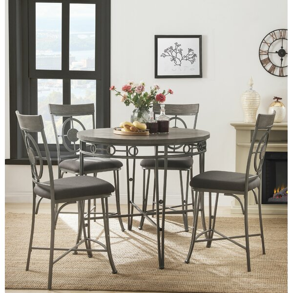 Stamford 5 Piece Dining Set by Canora Grey Canora Grey