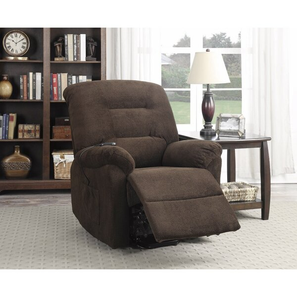 Carnahan Irresistible Power Recliner with Supreme Comfort by Red Barrel Studio