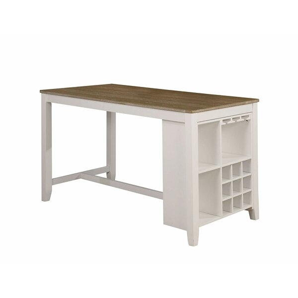 Marquard Counter Height Dining Table by Rosalind Wheeler