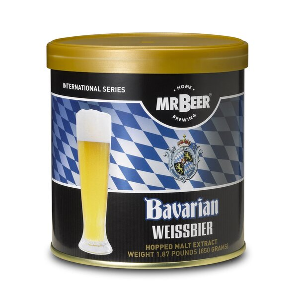 Mr. Beer Bavarian Wiessbier Beer Making Refill Kit by Mr. Beer
