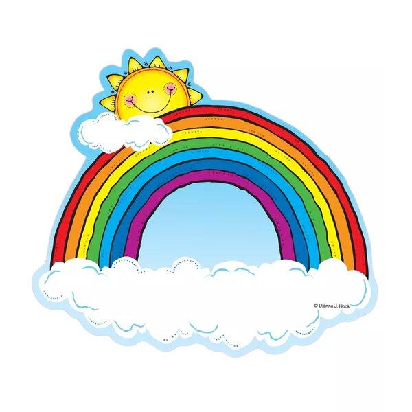 Carson Dellosa Publications Rainbows Bulletin Board Cut Out Wayfair