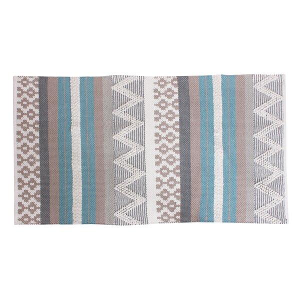 Jayden Blue/Gray Area Rug by Thro by Marlo Lorenz