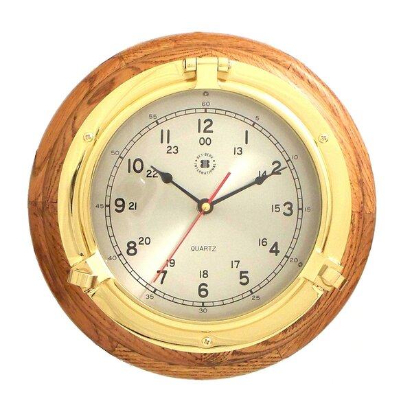 9.5 Porthole Wall Clock by Bey-Berk