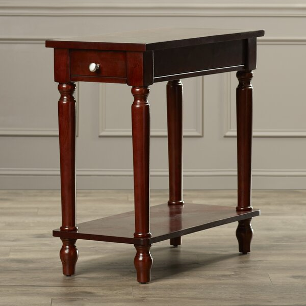 Louis End Table With Storage By Charlton Home